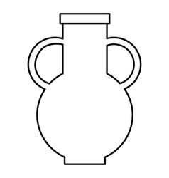 Pitcher icon outline style vector image vector image