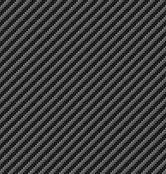 Tileable diagonal Carbon texture Sheet Pattern vector image