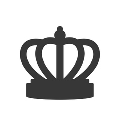 crown royalty king queen icon graphic vector image
