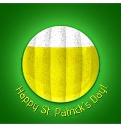Happy st patricks day poster vector