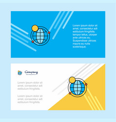 internet abstract corporate business banner vector image