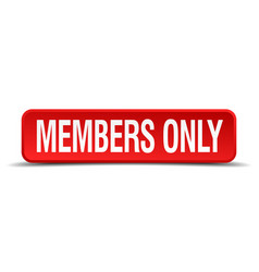 members only vector image