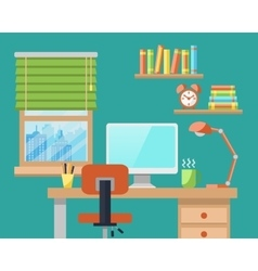 Office Workplace vector