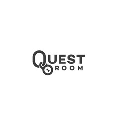 Quest room logo vector
