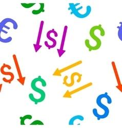 Receive Money Flat Seamless Pattern vector
