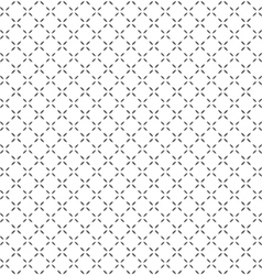 Simple black white seamless geometric pattern vector