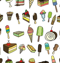 candies and sweets vector image