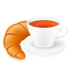 cup of tea 04 vector image
