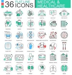 medical healthcare medicine modern color vector image