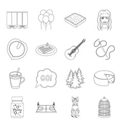 Animal sport cooking and other web icon in vector