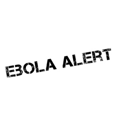 Ebola Alert rubber stamp vector