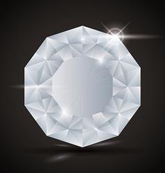 Luxury diamond design vector