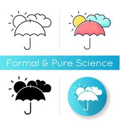 Meteorology icon vector