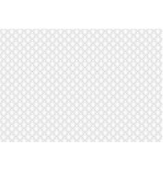 shiny glossy white mosaic seamless background vector image