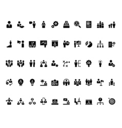 Stick Figure monochrome vector image