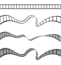 set of films stripes vector image