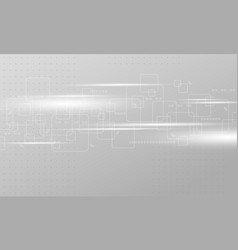 abstract technology background design vector image