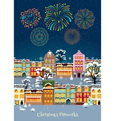 Colorful Christmas Celebration Template vector