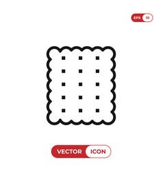 cracker icon vector image