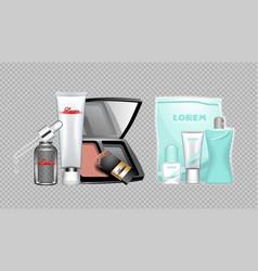 Digital skin care cream vector