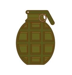 Grenade weapon icon image vector