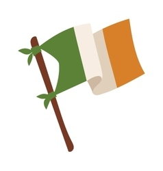 Irish flag vector image