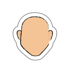 Man avatar character icon vector