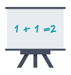mathematics icon vector image