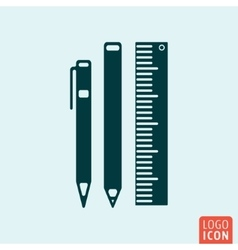 Office equipment icon vector
