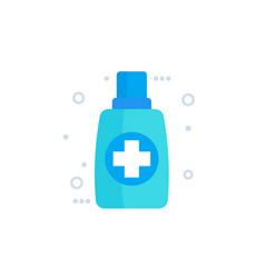 Ointment cream medicine icon vector