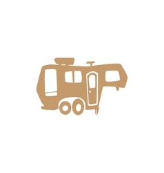 recreational vehicle vector image
