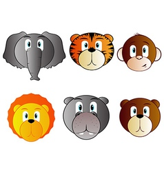 Safari Animal Babies vector image