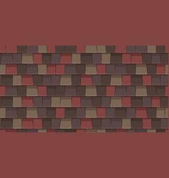 Shingles roof vector