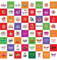 Carnival logo vector image vector image