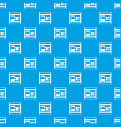 atm pattern seamless blue vector image