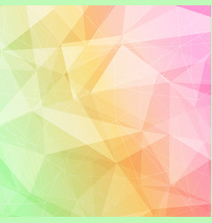 bright minimalistic abstract polygonal wireframe vector image