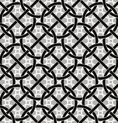 Connected circles and lines seamless pattern vector