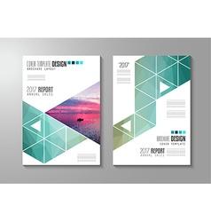 Cover Design Tria ver vector image