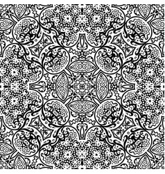 ethnic hand drawn ornamental background vector image