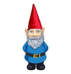 Garden gnome vector