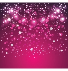 Glitter particles background effect for greeting vector image
