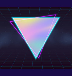 Holographic backgrounds vector