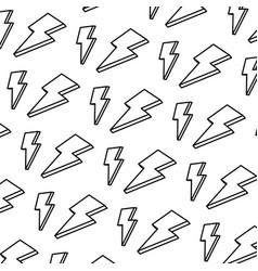 line nice light thunder art background vector image