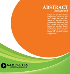 simple composition vector image vector image