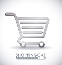 cart shopping vector image
