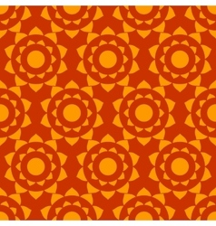 Ethnic mexican geometric seamless pattern vector image vector image