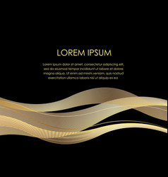 Abstract background with a wavy pattern vector