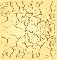 Abstract seamless background cracks on wall or vector