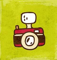 Camera Cartoon vector image