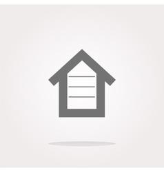 house button button signs web icon vector image